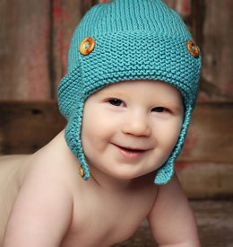 Wright-Flyer Baby Aviator Hat