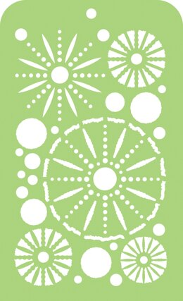 "Kaisercraft Mini Designer Templates 3.5""X5.75"" - Sea Urchins"