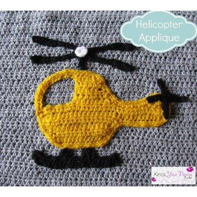 Helicopter Applique