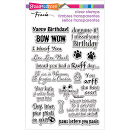 Stampendous Perfectly Clear Stamps - Dog Sayings