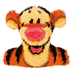 Vervaco Disney Tigger Latch Hook Rug Kit