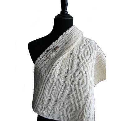 Lost kingdom: celtic love song shawl