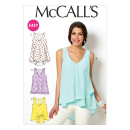 McCall's Misses' Tops and Tunics M6960 - Sewing Pattern