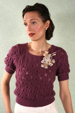 It Cannot Fail to Please Sweater in Susan Crawford Excelana 4 Ply