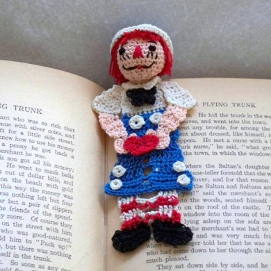 LoisLeigh's Story Time Bookmark Series Raggedy Andy