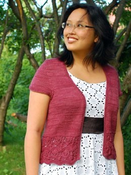 Bellevue Cardigan - worsted weight