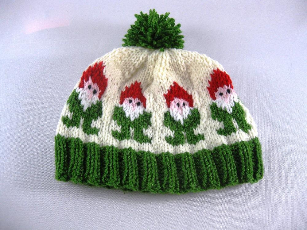 Gnome or Elf Hat Knitting pattern by Rebecca Doherty ...