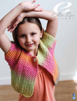 Moss Stitch Jacket in Ella Rae Seasons - ER15-04 - Downloadable PDF