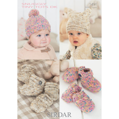 Sirdar Knitting Pattern Abbreviations : Accessories in Sirdar Snuggly Tiny Tots DK - 1491 - Downloadable PDF