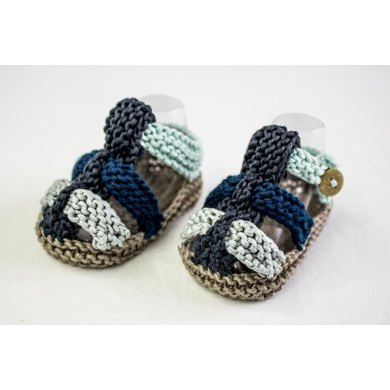 Baby Boys Knit Summer Sandals