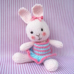 Candytuft - knitted rabbit