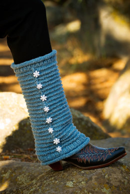 Cascade Leg Warmers in Imperial Yarn Columbia - P124