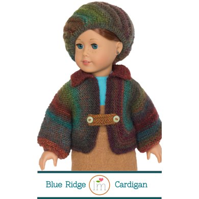 Big Jacket And Beret For 18 Inch Dolls Doll Clothes Knitting