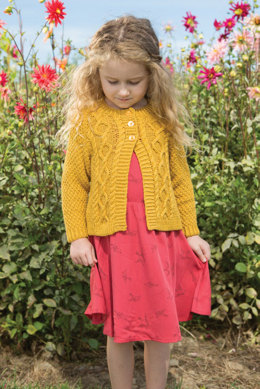 Jonquil Cardigan in Berroco Modern Cotton - Downloadable PDF