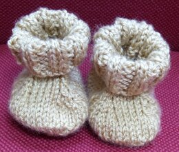 Simplified Baby Booties