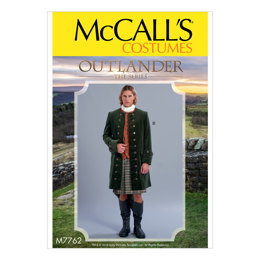 McCall's Men's Coats M7762 - Sewing Pattern