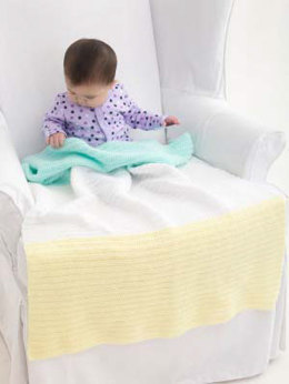 Sweetest Baby Afghan in Lion Brand Babysoft - L40719 - Downloadable PDF
