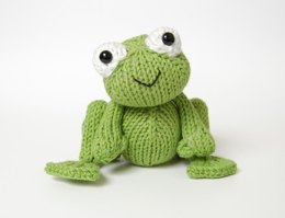 Knitted Frog Prince