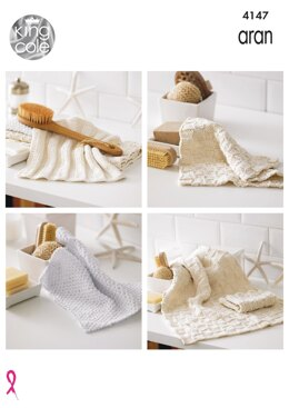 Home Knits in King Cole Big Value Recycled Cotton Aran - 4147 - Downloadable PDF