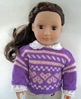 Sweethearts Doll Sweater