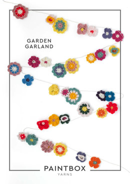 Garden Garland in Paintbox Yarns Simply DK - Downloadable PDF