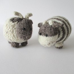 Bramble goat and chestnut cow
