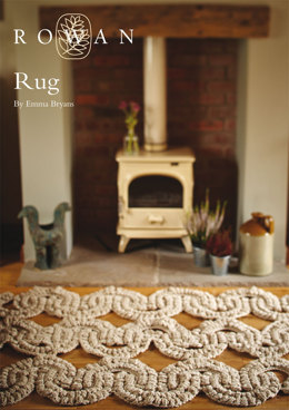 Rug in Rowan Big Wool