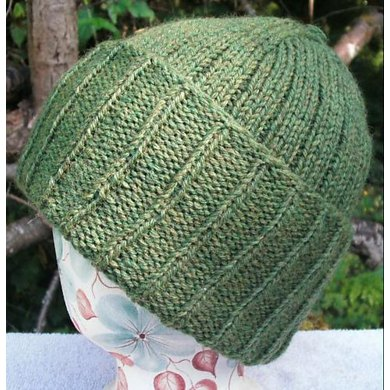 Super Simple Ribbed Hat Knitting Pattern By Jane Nelson Knitting