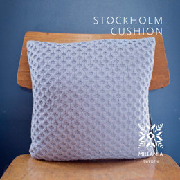 Stockholm Cushion Cover in MillaMia Naturally Soft Merino - Downloadable PDF