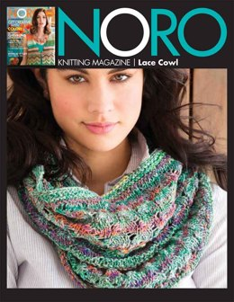 Lace Cowl in Noro Kibou - 05 - Downloadable PDF