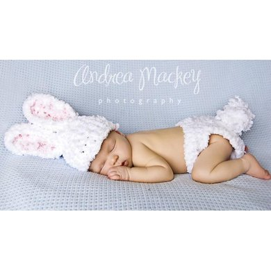 Bulky Bunny Hat and Nappy Cover