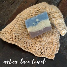 Lace Arbor Towel