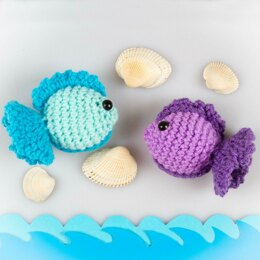 Amigurumi Fish Toy