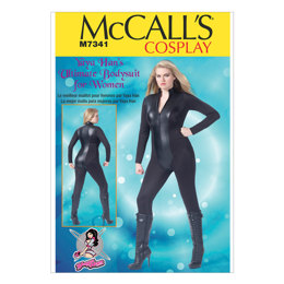 McCall's Women's Zippered Bodysuit by Yaya Han M7341 - Sewing Pattern