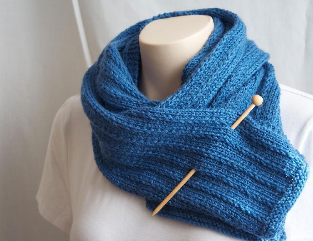 His-Hers Scarf Knitting pattern by Deux Brins de Maille ...