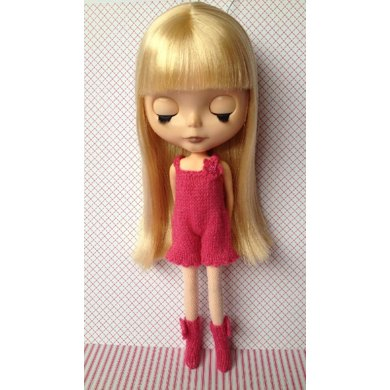 Sweet Intimates - all in one undergarment for Blythe doll
