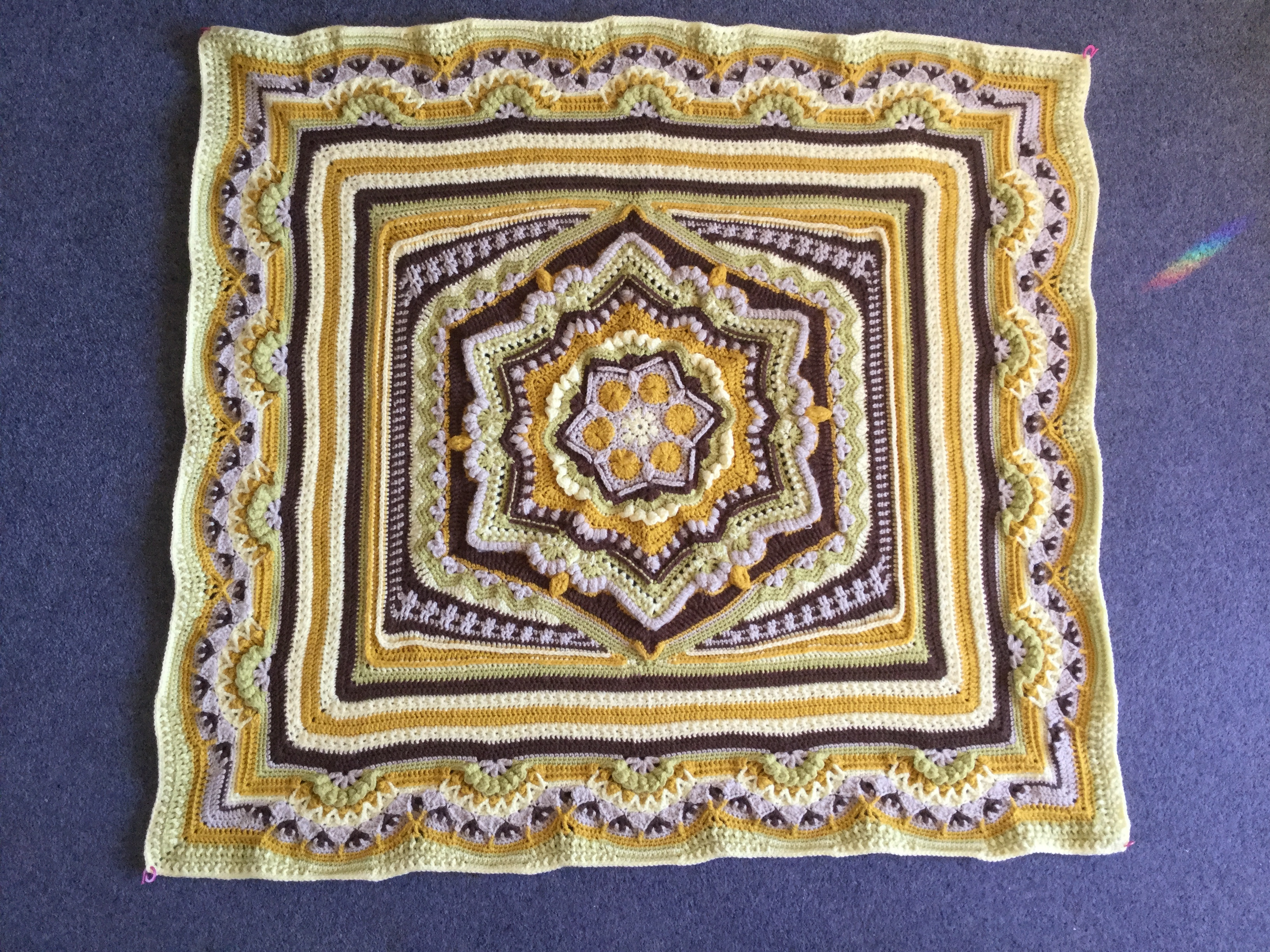 Cosmic Cal Part 5 Amp 6 Crochet Project By Sarah T