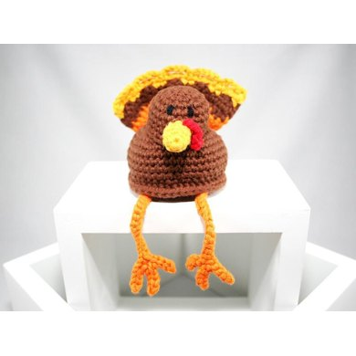 Turkey - Shelf Sitter - Amigurumi