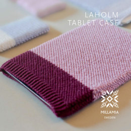 Laholm Tablet Case in MillaMia Naturally Soft Merino - Downloadable PDF