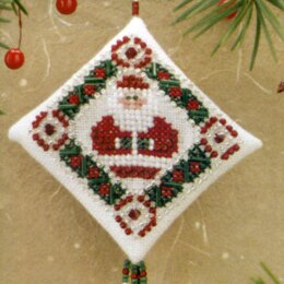 Mill Hill Simply Santa Beaded Cross Stitch Kit