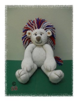 Perry the patriotic lion