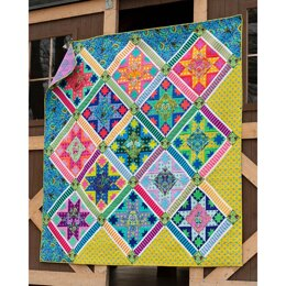 Tula Pink Center Stage Quilt - Downloadable PDF
