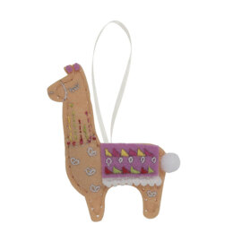 Trimits Felt Sewing Kit: Llama