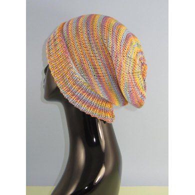 Self Striping Super Slouch Hat
