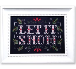 Tiny Modernist Let it Snow - Leaflet