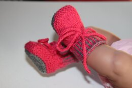 Baby doll booties