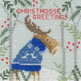Bothy Threads Xmas Moose Cross Stitch Kit