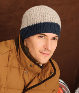 Icehouse Hat in Blue Sky Fibers Sport Weight