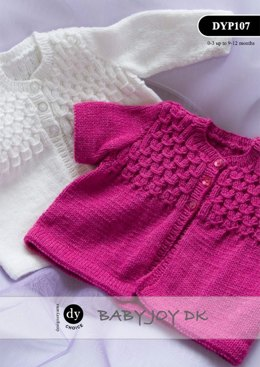 Jacket in DY Choice Baby Joy DK - DYP107