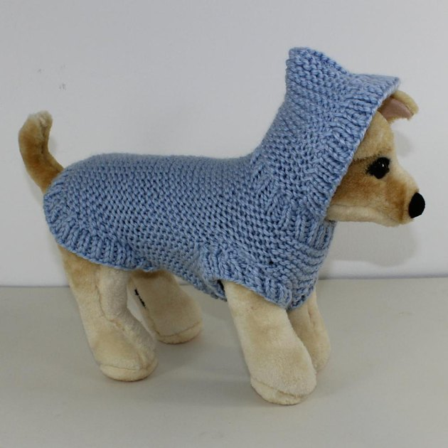 Knitting Patterns For Dog Hoodies : Dog Chunky Hoodie Knitting pattern by madmonkeyknits